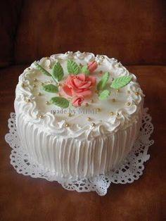Creative Cake Decorating, Creative Cakes, Decorating Ideas, Adult Birthday Cakes, Birthday Cupcakes, Beautiful Birthday Wishes, Bolo Floral, Cake Icing, Sweet Tarts