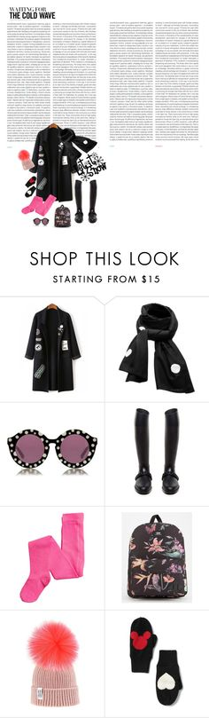 """""""The cold wave"""" by prayerbox ❤ liked on Polyvore featuring Oris, SCENERY, House of Holland, Givenchy, Vans and Disney"""