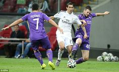 Free to leave: Angel Di Maria is set to leave Real Madrid for either Manchester United or ...