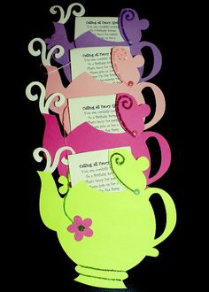 Alice In Wonderland Party Ideas Girls Tea Party, Tea Party Theme, Princess Tea Party, Tea Party Birthday, Tea Party For Kids, Tea Parties, Birthday Ideas, Mad Hatter Party, Mad Hatter Tea