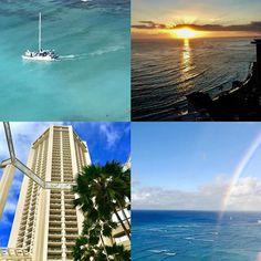【brilliantflower.h】さんのInstagramをピンしています。 《ワイキキ🏝🏖🌈🌅🏨❣️ #Hawaii#Waikiki#Ocean#Aloha #Blueocean#Honolulu #Diamond Head mountain #sunset#sunrise #ワイキキの夕陽#夕陽 #Aloha #beach #trip#travel #癒し#healing  #beautiful #wonderful #nice #Flower#Natural #花#自然 #景色 #海 #空 #雲#太陽 #Scenery#Sea》