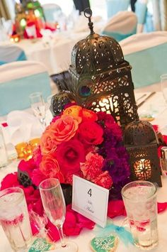 ...  for the sweet treats, go for a Moroccan-themed wedding cake, a chocolate buffet or an oriental dessert of scrumptious Arabic sweets served with delicious Moroccan tea. Description from arabiaweddings.com. I searched for this on bing.com/images