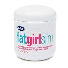 bliss fatgirlslim toning and slimming cream