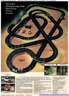 Slot Car Racing Sets, Slot Car Tracks, Race Tracks, Hot Wheels, Tyco Slot Cars, App Iphone, Las Vegas, Childhood Toys, Childhood Memories