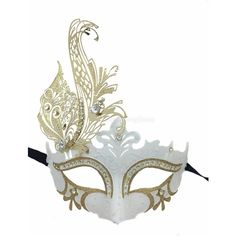 Limited Edition White Dream Laser Cut Venetian Mardi Gras Masquerade... ($33) ❤ liked on Polyvore featuring masks, accessories, costumes, white halloween costumes, white costume, masquerade halloween costume, mardi gras halloween costumes and masquerade costume