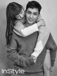 Bomi and Choi Tae Joon