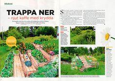 skapa en odlingstrappa i en slänt, good garden ger tips