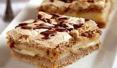 Jablkový krémeš Sweet Desserts, Apple Pie, Food Inspiration, Nutella, Tiramisu, Banana Bread, Food And Drink, Cooking Recipes, Birthday Cake