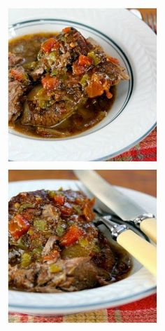 Pot roast weather is coming, and I love the sound of this Slow Cooker Tex-Mex Pot Roast from The Perfect Pantry! [Featured on SlowCookerFromScratch.com]: Pot roast weather is coming, and I love the sound of this Slow Cooker Tex-Mex Pot Roast from The Perfect Pantry! [Featured on SlowCookerFromScratch.com]