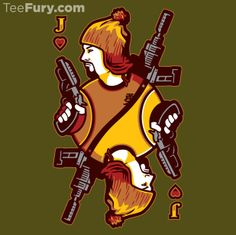 Jayne of Hearts by WinterArtwork - Shirt sold on December 1st at http://teefury.com - More by the artist at https://www.facebook.com/WinterArtworkIllustration