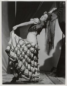 """Franca Nofri, ballerina in """"Carmen"""", Grand Opera Co., 1948. Find out more about this photograph http://acms.sl.nsw.gov.au/staff/item/itemDetailPaged.aspx?itemID=421461. From the collection of the State Library of New South Wales www.sl.nsw.gov.au"""