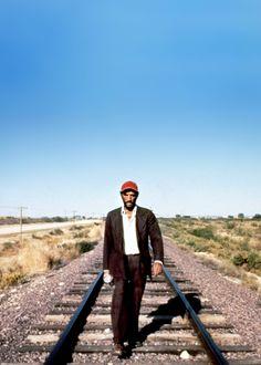Harry Dean Stanton in 'Paris, Texas', 1984, directed by Wim Wenders