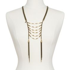 Juliet Necklace $222 Love this, so Native American looking with a Chic twist