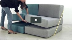 In addition, the Rodolfo Sofa uses powder-coated steel as a structural reinforcement. Modular Home Office Furniture, Small House Furniture, Modular Couch, Kids Bedroom Furniture, Smart Furniture, Space Saving Furniture, Cheap Furniture, Sofa Furniture, Pallet Furniture
