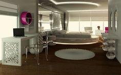 Origami Modern Masif Mobilya | Projeler | park vadi yatak odası 3