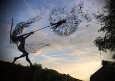A Robin Wight wire sculpture! A must have!!  Love it!!!