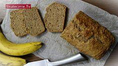 Pełnoziarnisty chlebek bananowy z cynamonem