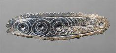Pendeloque à motif géométrique |  Saint-Marcel (Indre) (origine) | 17000-11000 av JC |  Paléolithique supérieur - Magdalénien