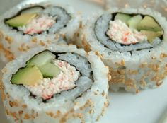 The Best California Crab Rolls (Sushi) | Easy Recipes for Dinner
