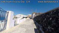 Santorini 2014 - walk Fira to Oia part 1