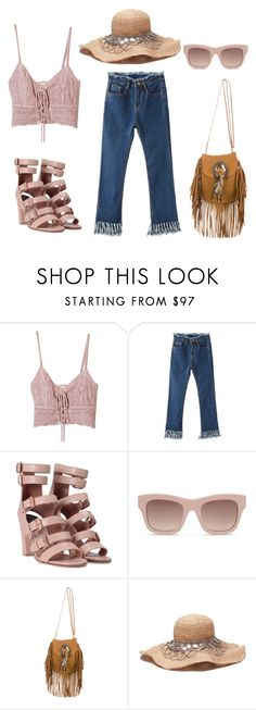 """""""coachela vibes flatlays"""" by shellynrl27 on Polyvore featuring Jens Pirate Booty, Laurence Dacade, STELLA McCARTNEY and Yves Saint Laurent"""
