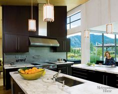 Modern Kitchen Design Photos - Modern Kitchen Ideas - ELLE DECOR