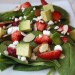 Pomegranate, Feta, & Walnut Salad (gluten-free, contains dairy) - Vegetarian Gastronomy