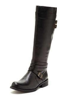 Miz Mooz Kelsey Flat Riding Boot by Boot Bazaar on @HauteLook