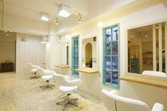 Beauty salon interior design ideas | + hair + space + decor + designs + Tokyo + Japan | Follow us on https://www.facebook.com/TracksGroup