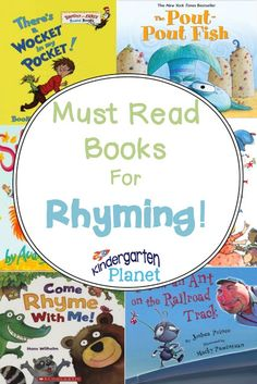 Must Read Monday: Books For Rhyming