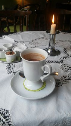 Hot chocolate (Teestube Meiningen - Germany)