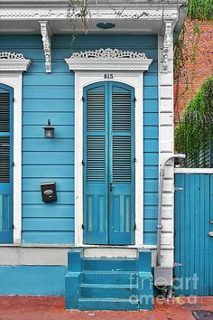 New Orleans Front Door Photograph by Christine Till - New Orleans Front Door Fine Art Prints and Posters for Sale at http://pixels.com/featured/new-orleans-front-door-christine-till.html