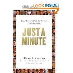 Compassion Intl Pres Wess Stafford shares stories of how you can change the life of a child in Just a Minute. great book!