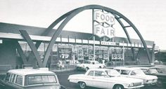 One of Philadelphia's Food Fair supermarkets. On North Front Street at Godfrey Avenue, Olney, 1960