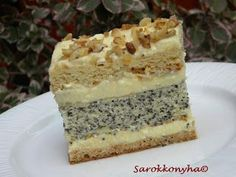 Yami Yami, Poppy Cake, My Recipes, Vanilla Cake, Cooking Tips, Snacks, Meals, Cookies, Food