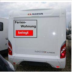 Wohnmobil Caravan Aufkleber Ferienwohnung...