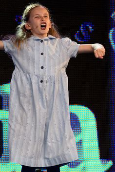 Cristina Fray from Matilda the Musical West End performing Naughty at West End Live