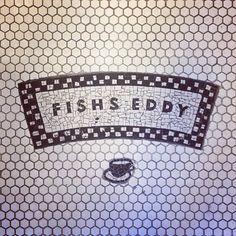 in the market for mason jars. (at Fishs Eddy) Nyc Fall, Signage, Mason Jars, Fish, Boutiques, York, Interior Design, Detail, Wall