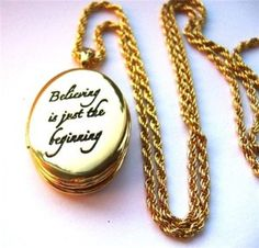 disney jewelry for women | ... disney couture believe locket necklace from the disney couture xoxo