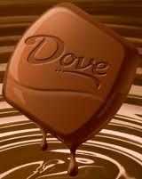 Dove Chocolate with Almonds!
