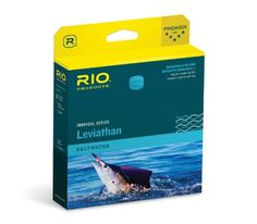 RIO Leviathan Fast Sinking Head Big Game Series Fly Line  http://fishingrodsreelsandgear.com/product/rio-leviathan-fast-sinking-head-big-game-series-fly-line/  Short, heavy head that easily loads powerful blue water fly rods Ultra strong cores in excess of 50 lbs for battling the largest, toughest fish Aggressive front tapers that easily cast the largest of flies