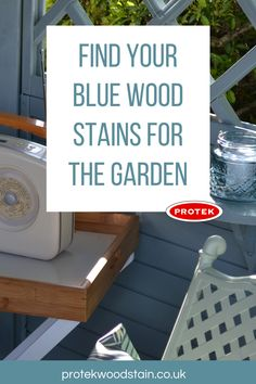 Every blue wood stain and paint you will need for outdoor and exterior wood projects. Could be tables, benches, fences, furniture and decks plus loads more in dark and light blue colours. Blue Wood Stain, Wood Stain Colors, House Painting, Painting On Wood, Outdoor Projects, Wood Projects, Backyard Furniture, Diy Furniture, Blue Fence