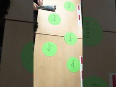 Woorden meppen Spelling, Letters, Reading, Blog, Stage, Reading Books, Lettering, Fonts, Games