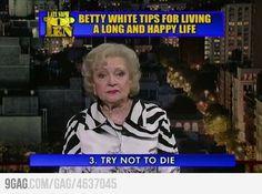 Thanks Betty!
