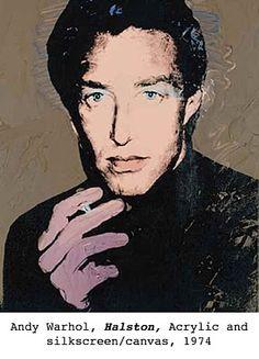 Andy Warhol, Halston