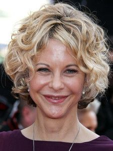 Short curly hairstyles for women.