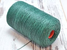11 Yard(10 Meter) Dark Green Color Waxed Cotton 1.5 mm Cord