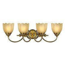 """View the Hinkley Lighting H5394 Transitional 4 Light 29"""" Wide Bathroom Fixture from the Isabella Collection at LightingDirect.com."""