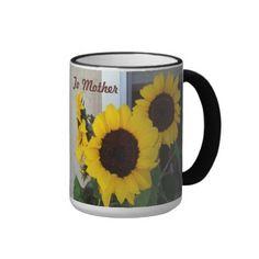 Sunflower Mothers Day Ringer Mug