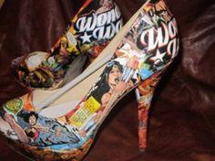 Tacones Wonder Woman // Wonder Woman Heels